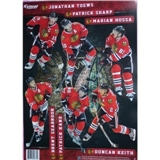 Fathead Chicago Blackhawks Team Set Wall Graphic - Kane, Toews