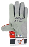 Chipper Jones Autographed Atlanta Braves Game Used Batting Glove (PSA/DNA)