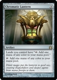 Magic the Gathering Return to Ravnica Single Chromatic Lantern FOIL