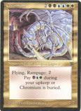 Magic the Gathering Legends Single Chromium - SLIGHT PLAY (SP)