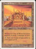 Magic the Gathering 7th Edition Single City of Brass - SLIGHT PLAY (SP)