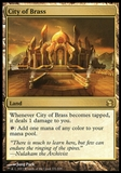 Magic the Gathering Modern Masters Single City of Brass FOIL - NEAR MINT (NM)