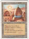 Magic the Gathering Chronicles Single City of Brass MODERATE PLAY (VG/EX)