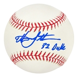 Christian Laettner Autographed Official Major League Baseball
