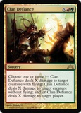 Magic the Gathering Gatecrash Single Clan Defiance UNPLAYED (NM/MT)