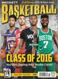 2016 Beckett Basketball Monthly Price Guide (#289 October) (Class of 2016)