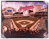 Cleveland Indians Artissimo Progressive Field 22x28 Canvas - Regular Price $69.99 !!!