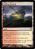 Magic the Gathering Innistrad Single Clifftop Retreat - NEAR MINT (NM)