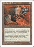 Magic the Gathering 4th Edition Single Clockwork Beast - NEAR MINT (NM)