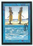 Magic the Gathering Beta Artist Proof Clone - SIGNED BY JULIE BAROH