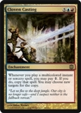 Magic the Gathering Alara Reborn Single Cloven Casting UNPLAYED (NM/MT) 4x Lot