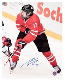 Connor McDavid Autographed Team Canada 11x14 Hockey Photo (AJ's COA)