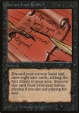 Magic the Gathering Beta Single Contract from Below - SLIGHT PLAY (SP)