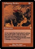Magic the Gathering Invasion Single Collapsing Borders - SLIGHT PLAY (SP)