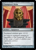 Magic the Gathering Commander Single Champion's Helm UNPLAYED (NM/MT)