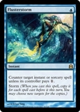 Magic the Gathering Commander Single Flusterstorm UNPLAYED (NM/MT)