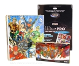 DC Comics: The New 52 Trading Card BOX + BINDER + PAGES (Cryptozoic 2012)