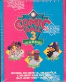 1992 Upper Deck Comic Ball Series 3 Baseball Hobby Box