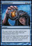 Magic the Gathering Coldsnap Single Commandeer - MODERATE PLAY (MP)