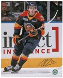 Connor McDavid Autographed Erie Otters black jersey 8x10 Hockey Photo (AJ's COA)