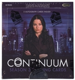 Continuum Season 3 Trading Cards Box (Rittenhouse 2015)