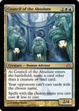 Magic the Gathering Dragon's Maze Single Council of the Absolute UNPLAYED (NM/MT)