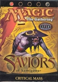 Magic the Gathering Saviors of Kamigawa Precon Theme Deck Critical Mass