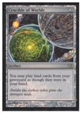 Magic the Gathering Fifth Dawn Single Crucible of Worlds FOIL NEAR MINT (NM) Artist Signed!