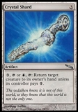 Magic the Gathering Mirrodin Single Crystal Shard FOIL - NEAR MINT (NM)
