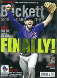 2017 Beckett Sports Card Monthly Price Guide (#382 Janruary) (Kris Bryant)