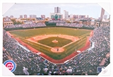 Chicago Cubs Artissimo Wrigley Field 22x33 Canvas