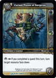 WoW Black Temple Single Cursed Vision of Sargeras (BTT-2) FOIL