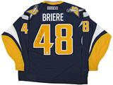 Daniel Briere Autographed Buffalo Sabres XL Blue Hockey Jersey