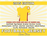 2015 Hit Parade Autographed Football Jersey Hobby Box - Series 3