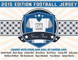 2015 Hit Parade Autographed Football Jersey Hobby Box - Series 4