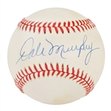 Dale Murphy Autographed Official Major League Baseball (JSA COA)