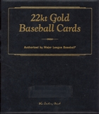 1996 Danbury Mint 22K Gold 50 Card Baseball Set