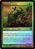 Magic the Gathering Alara Reborn Single Dauntless Escort Foil