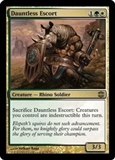 Magic the Gathering Alara Reborn Single Dauntless Escort - NEAR MINT (NM)