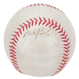 David Price Autographed Detroit Tigers Game Used Rawlings MLB Baseball (JSA COA)