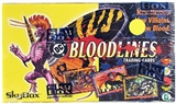 DC Bloodlines Wax Box (1993 Skybox)