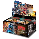 DC Comics Epic Battles Trading Cards Box (Cryptozoic 2014) (Presell)