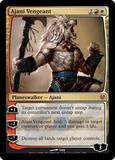 Magic the Gathering Duel Deck Single Ajani Vengeant Foil Near Mint