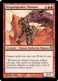 Magic the Gathering Duel Deck Single Dragonspeaker Shaman - NEAR MINT (NM)