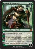 Magic the Gathering Duel Deck Single Garruk Wildspeaker FOIL