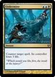 Magic the Gathering Duel Deck Single Undermine - NEAR MINT (NM)