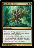 Magic the Gathering Dragon's Maze Single Deadbridge Chant Foil - SLIGHT PLAY (SP)