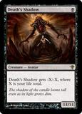 Magic the Gathering Worldwake Single Death's Shadow UNPLAYED (NM/MT)