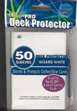 Ultra Pro Yu-Gi-Oh! Size Wizard White Deck Protectors 60 Count Pack