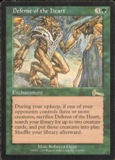 Magic the Gathering Urza's Legacy Single Defense of the Heart SLIGHT PLAY (SP)